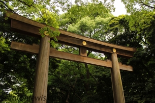 Gate of Meji Jingu
