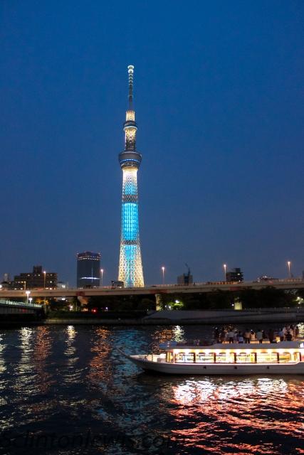 Glowing Skytree