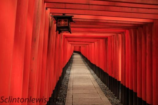Lantern at Inari Taisha